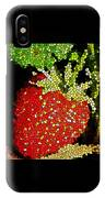 Homegrown Strawberry Mosaic IPhone Case