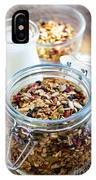 Homemade Toasted Granola IPhone Case