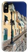 Homes In Bogliasco IPhone Case