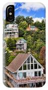 Homes On Mt. Harrison-smoky Mountains Gatlinburg Tennesse IPhone Case