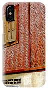 Homes On Stilts In Tachilek-burma IPhone Case