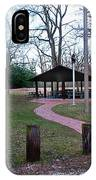 Homewood Izzak Walton Pavilion - Fall IPhone Case