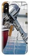 Honda Boat Engine IPhone Case