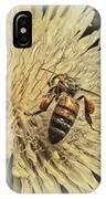 Honey Bee Meets Dandy Lion IPhone Case