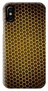 Honeycomb Background Seamless IPhone Case