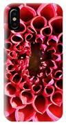 Honeycomb Dahlia IPhone Case