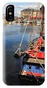 Honfleur Harbor  IPhone Case