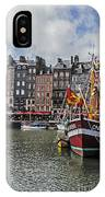 Honfleur Holiday IPhone Case