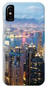 Hong Kong At Dusk IPhone Case