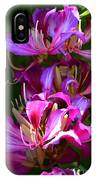 Hong Kong Orchid IPhone Case