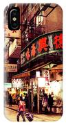 Hong Kong Street IPhone Case