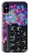 Honolulu Festival Fireworks IPhone Case