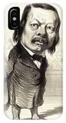 Honoré Daumier French, 1808 - 1879, Ferdinand Flocon IPhone Case