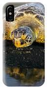 Honu At Sunset 01 IPhone Case