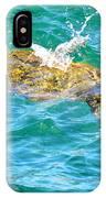 Honu Hawaiian Green Sea Turtle IPhone Case