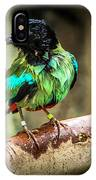 Hooded Pitta IPhone Case