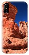 Hoodoo And Towers IPhone Case