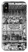 Hoop Shots Bw IPhone Case