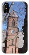 Hoosick Falls Brick Church IPhone Case