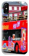 Hop On And Hop Off Bus In Bergen IPhone Case