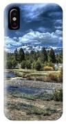Hope Valley Wildlife Area 2 IPhone Case