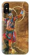 Hopi Hoop Dancer IPhone Case