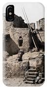 Hopi Hilltop Indian Dwelling 1920 IPhone Case