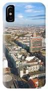 Horizontal Aerial View Of Berlin IPhone Case