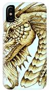 Horned Dragon IPhone Case