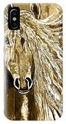 Horse Abstract Neutral IPhone Case