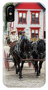 Horse And Buggy Sc3643-13 IPhone Case