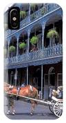 Horse And Carriage In New Orleans IPhone Case