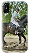 Horse And Rider IPhone Case