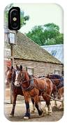 Horse Carriage IPhone Case