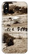 Horse Farm At Kourion IPhone Case