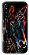 Horse On Black IPhone Case