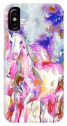 Horse Painting.16 IPhone Case