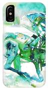 Horse Painting.18 IPhone Case
