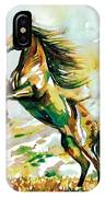 Horse Painting.25 IPhone Case