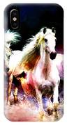 Horse Paintings 002 IPhone Case