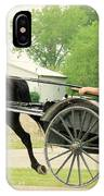 Horse Powered Transportation IPhone Case