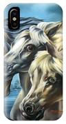 Horse Trio IPhone Case