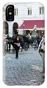 Horses And Carriage In Vienna IPhone Case