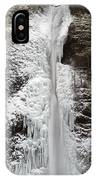 Horsetail Falls Full View IPhone Case