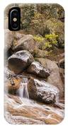 Horsethief Falls - Cripple Creek Colorado IPhone Case