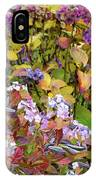 Hortensia Flowers IPhone Case