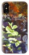 Hostas In The Forest IPhone Case