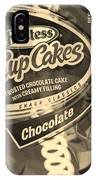 Hostess Cupcakes In Sepia IPhone Case
