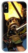 Hot Air Balloon Burner IPhone Case