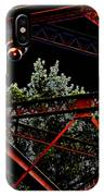 Hot Bridge At Night IPhone Case